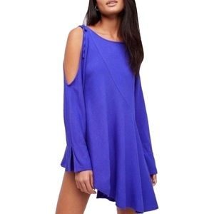 FREE PEOPLE NWT Clear Skies Violet Tunic Top